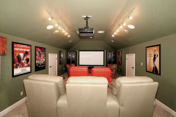 PrevNext & Home Entertainment u0026 Movies Room Decor - Ideas Design Ideas ...