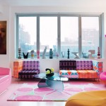 Colorful Home Interior Design by Karim Rashid