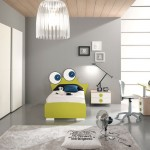 FunnyGreen Frog Bed for Kids Room