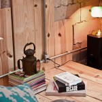 Home Office with Ancient Lamp