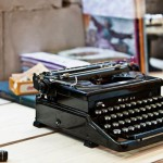 Home Office with Ancient Typewriter