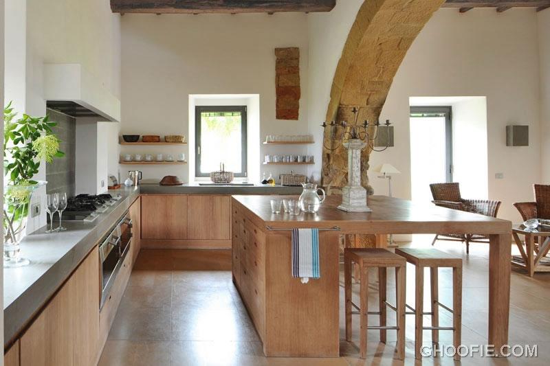 Modern Classic Beech Wood Kitchen
