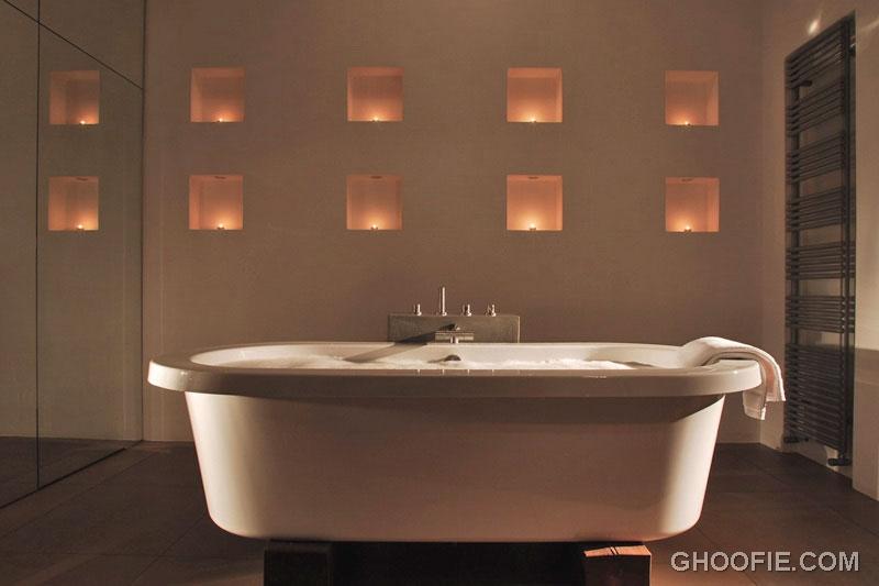 Modern Romantic Bathroom Interior Design
