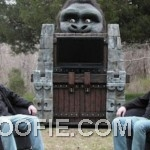 Outdoor King Kong Inspired Home Theater Design Ideas