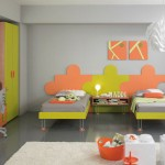 Pop Color Kids Bedroom for Two