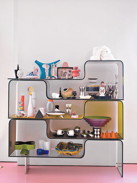 Modern Acrylic Living Room Storage Ideas