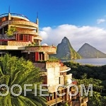 Cantilevered Architecture St-Lucia Luxury Resort