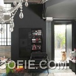 Eye Catching Black Interior Living Room Ideas