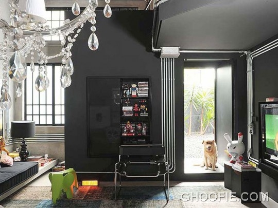 Eye Catching Black Interior Living Room Ideas
