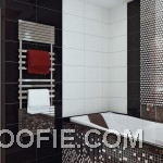Gorgeous Black White Mosaic Bathroom Tile Ideas