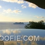 Infinity Pool with Caribbean Sea View