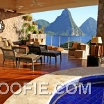 Luxury Resort with Sundeck Daybed and Pool