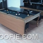 Modern Dining Table with Pool Design Ideas