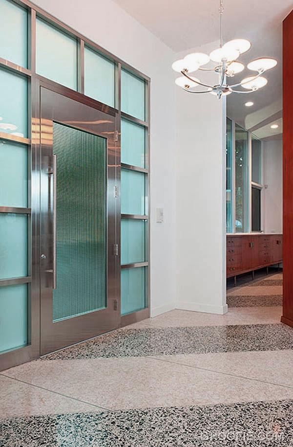 Modern Entrance for Contemporary Home Design Ideas