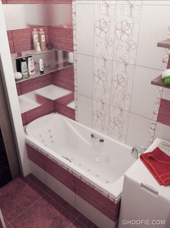 Awesome modern small bathroom design bathroom design for Small bathroom interior design ideas
