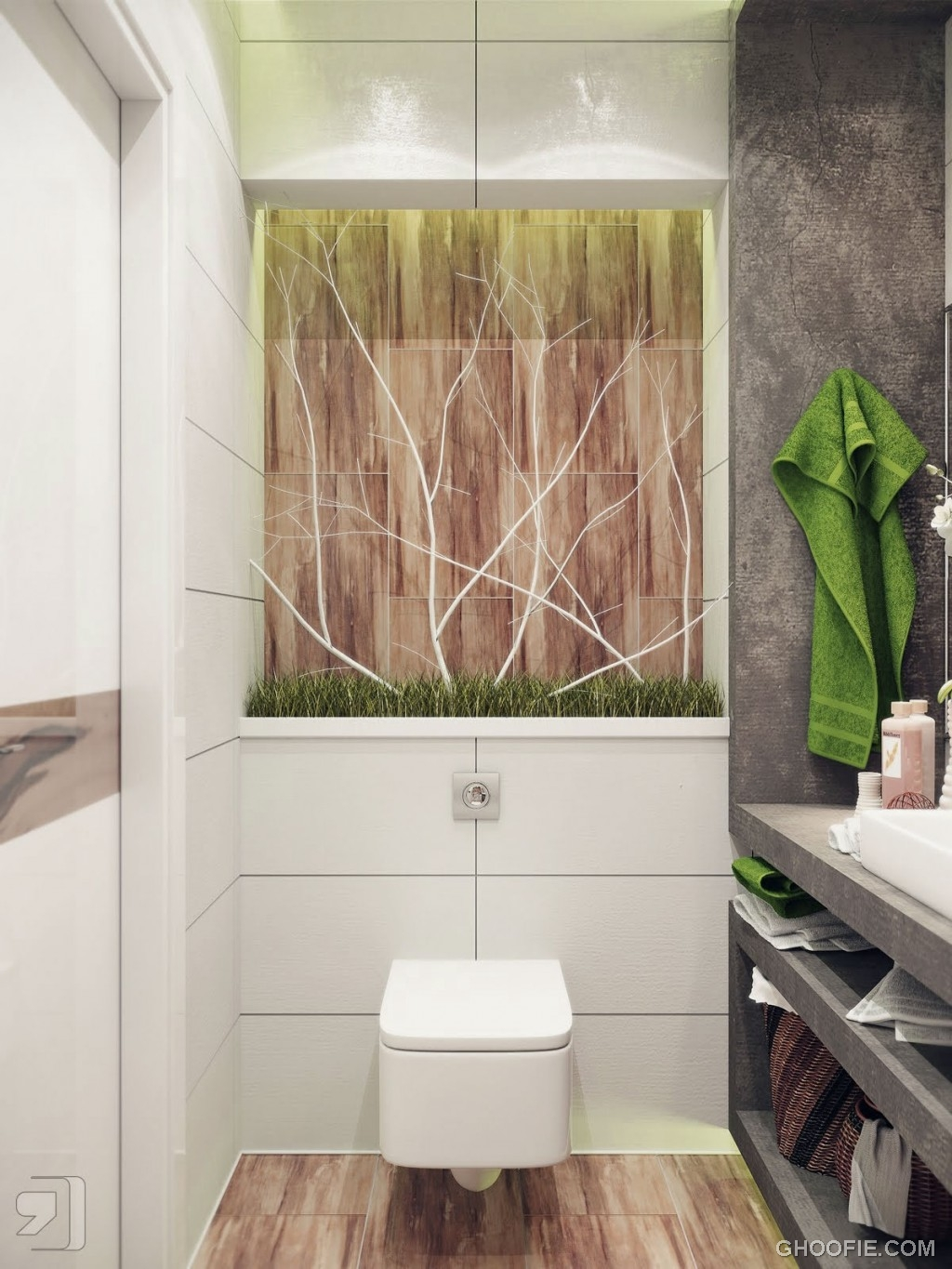 Nature Inspired Modern Bathroom Ideas