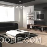 Rendering Contemporary Living Room Design