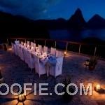 Romantic Alfresco Outdoor Dining at Night