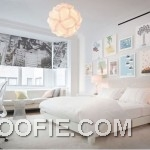 Clean White Bedroom Interior Design by Reese Roberts