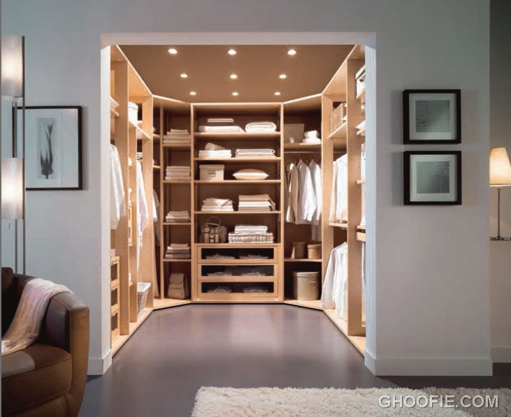 Functional and organized walk in closet design ideas - Walk in closet design ideas plans ...