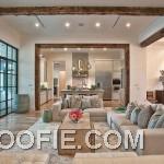 Luxury Warm Modern Living Room Design