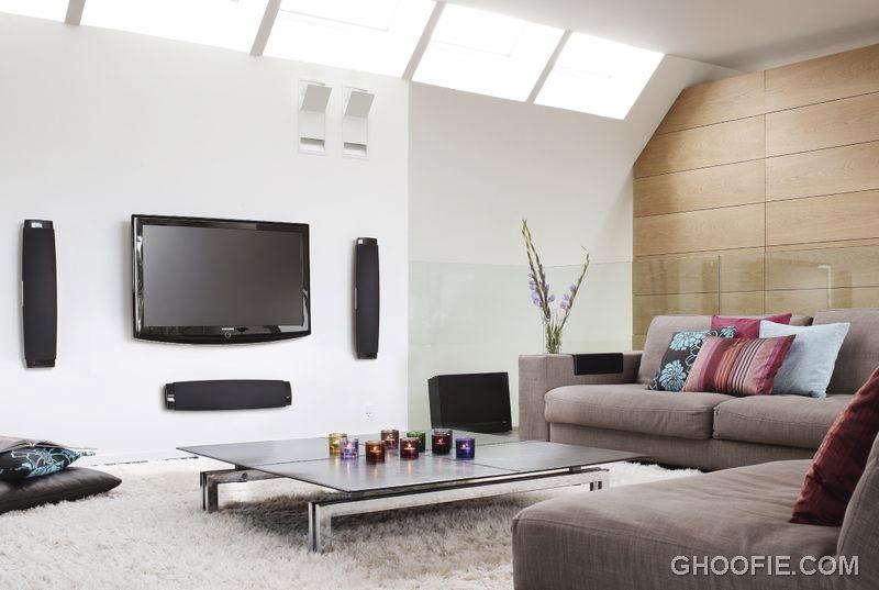 Minimalist Living Room Furniture with Sofas