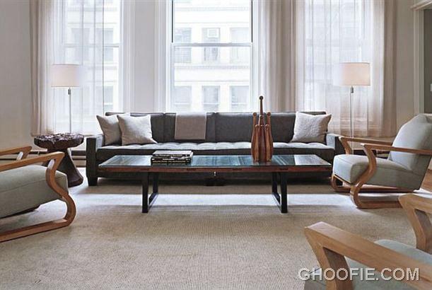 Modern Living Room Interior Design by Shawn Henderson