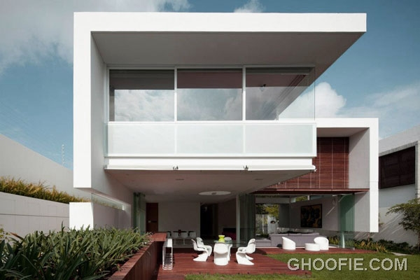 Beautiful Terrace for Modern Minimalist House Design