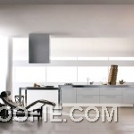 Minimalist White Kitchen Decor Scheme