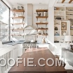 Modern Open Kitchen Shelving Ideas