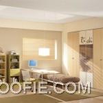 Neutral Kids Bedroom Design with Natural Light