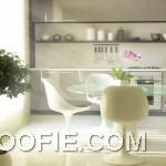 Shining Modern Retro Dining Suite