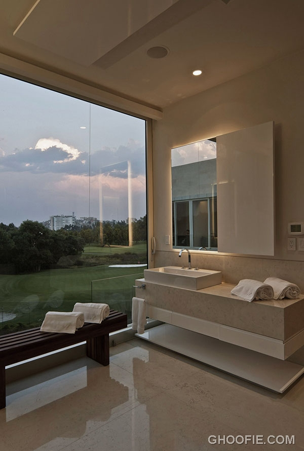 Contemporary Bathroom Design Ideas with Stunning View