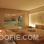Luxury Bedroom with Illuminated Light Decor