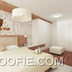 Modern White Wood Bedroom Decoration