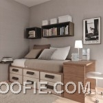 Natural Thoughtful Teen Room Layout Design