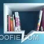 New Concept Comic Shelf Design