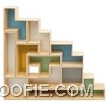 New Model Tetris Shelves Design