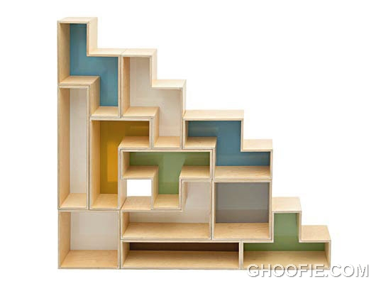 New Model Tetris Shelves Design