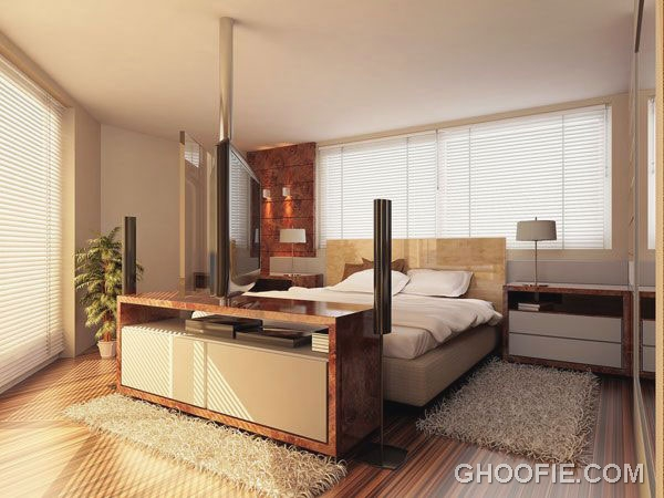 Shining Bedroom with Natural Light Ideas