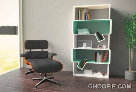 Unique Modern Book Shelves Design