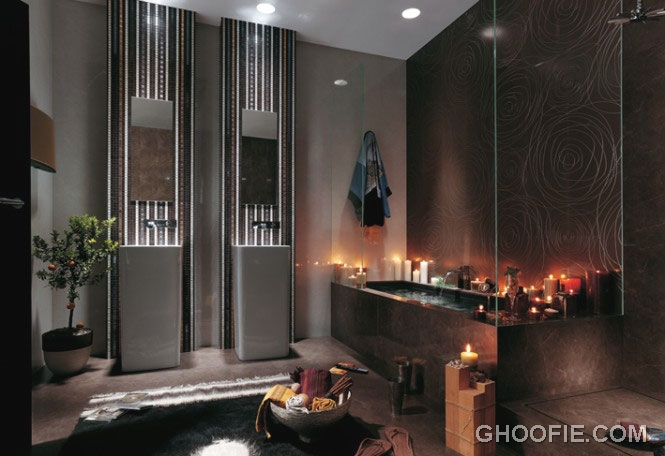 Unusual bathroom designs the eccentric style bathroom for Bathroom decor with candles