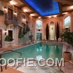 Luxurious Home Design with Indoor Swimming Pool and Spa
