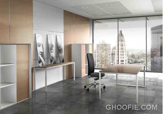 Simple minimalist office interior design ideas