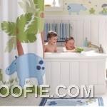 Cute Animal Decor Kids Bathroom