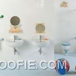 Cute Wall Decor Kids Bathroom Design