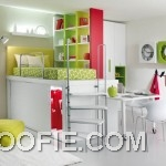 Colorful Furniture in Children Bedroom