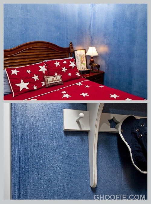 Adventurous boy bedroom murals