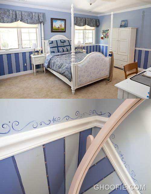 Children bedroom wall murals