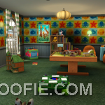 Play Areas in Children's Rooms